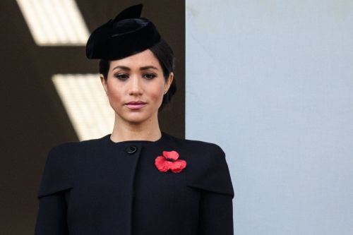 Meghan Markle Wore A Thing: Brandon Maxwell Jacket Dress on Remembrance Day