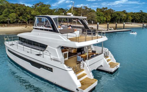 ILIAD Catamarans Power Ahead With Strong Sales in First Year