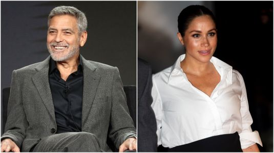 George Clooney Compares Meghan Markle to Princess Diana: 'We've Seen How That Ends'