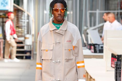 Heron Preston Churns Out Sci-Fi Workwear for Spring/Summer 2019