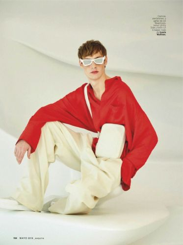 Roberto Sipos Embraces Quirky Style in Louis Vuitton for Esquire España
