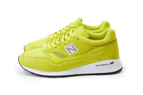 """Pop Trading Company Wraps New Balance's 1500 in """"Electric Yellow"""" & """"Pearl White"""" Leathers"""