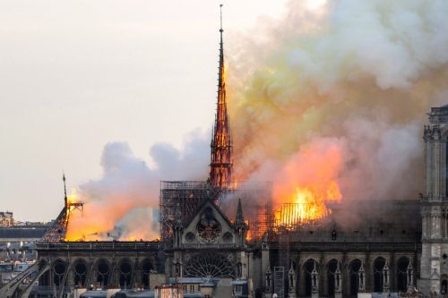 Notre Dame Cathedral's Main Structure & Bell Towers Spared From Deadly Fire