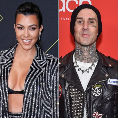 Serious as it Gets: Kourtney Kardashian Tattoos 'I Love You' on Boyfriend Travis Barker's Arm