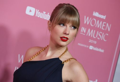 Power Pants! Taylor Swift Looks Chic in Blue Jumpsuit at Billboard's 2019 Women in Music