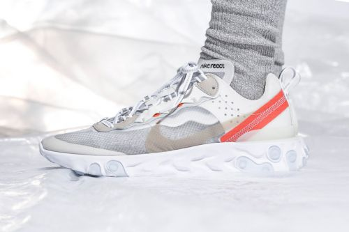 Take an On-Foot Look at the Nike React Element 87