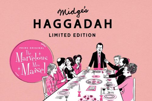 Haggadah Passover book gets the 'Mrs. Maisel' treatment