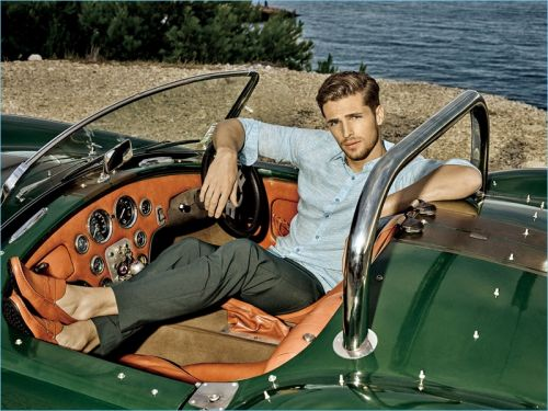 Edward Wilding Travels to Marseille for Autason Spring '18 Campaign