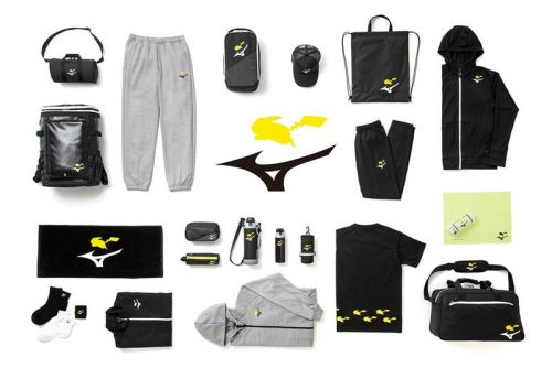 Work Out With Pikachu in Mizuno's Pokémon Center-Exclusive Collection