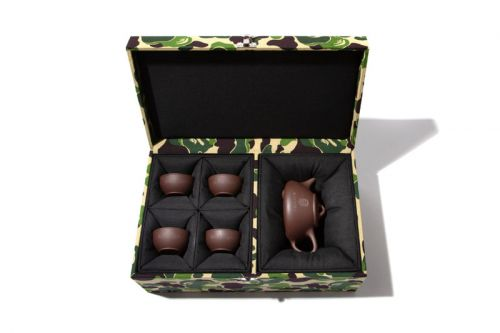 BAPE Releases Limited Edition Chinese Tea Pot Set