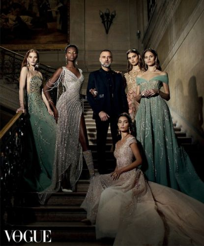 GEORGES HOBEIKA in an exclusive story for the first Vogue Arabia