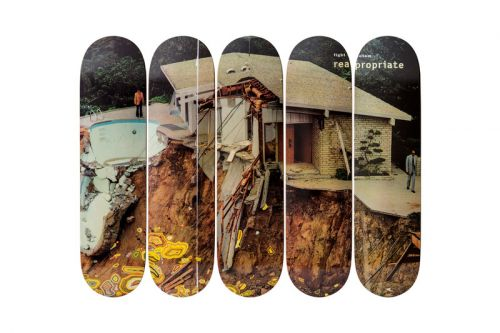 The Skateroom Unveils New Skate Deck Series with Artists Kelley Walker & Walead Beshty