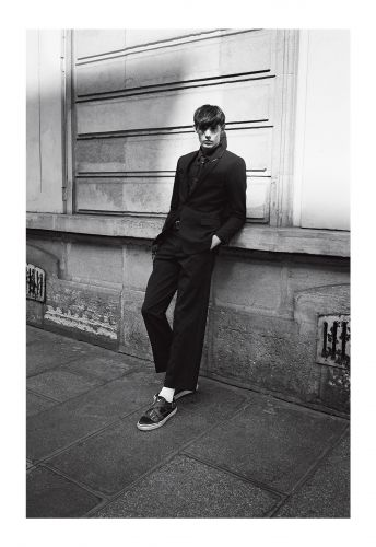 Kris Van Assche Of Dior Homme's People To Meet: Model Dylan Roques