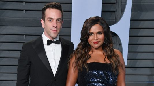 "Friends Are Urging B.J. Novak to Propose to His ""Soup Snake"" Mindy Kaling"