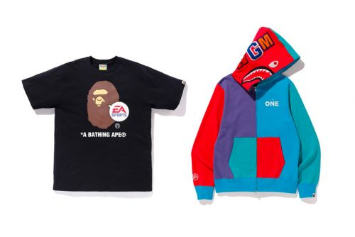 BAPE & EA Sports Join Forces on a Vibrant Collection