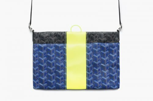 """MAGIC STICK Flips Iconic Goyard Pattern for SS19 """"Luxe Sacoche"""""""