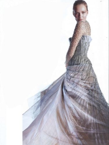 Sparkling couture - GEORGES HOBEIKA Haute couture Autumn Winter