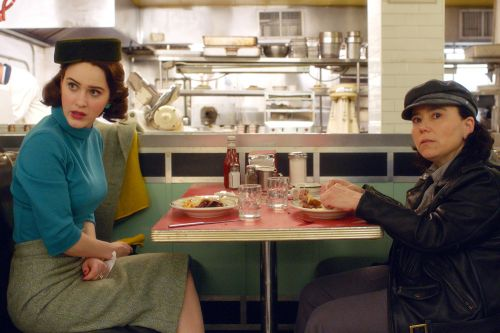 Turns out the 'Mrs. Maisel' stars dish just like their characters