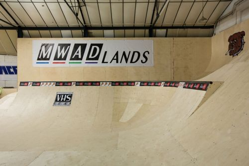 A First Look Inside Palace's Skatepark
