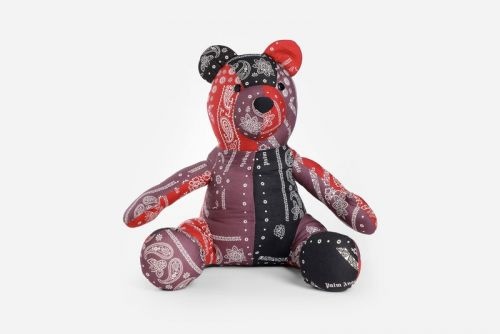 Palm Angels Releases Teddy Bear Made from Bandana Patchwork