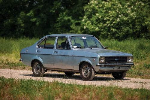The Late Saint Pope John Paul II's 1976 Ford Escort GL Is Headed for Auction