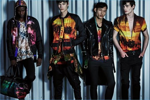 Balmain Delivers Tropical Vibes with Resort '19 Collection