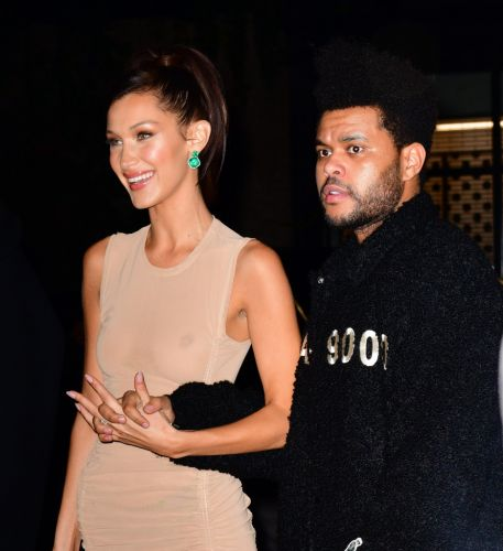 Bella Hadid Says She Was Staring at 'Sexy Boyfriend' The Weeknd on Victoria's Secret's Runway
