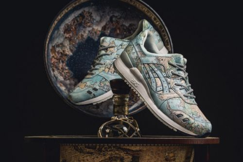 """Atmos & ASICSTIGER Bring the """"World Map"""" to the GEL-Lyte III"""