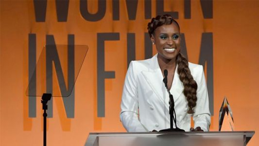 Issa Rae wins emerging entrepreneur award at the WIF gala and wants you to know that she did that S**t all by herself