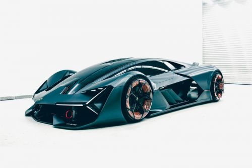 Take a First Look at the Lamborghini LB48H Terzo Millennio Concept