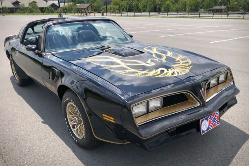 "Burt Reynolds' Iconic ""Black Bandit"" Trans Am Is Up for Auction"