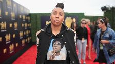 Lena Waithe Wears Shirley Chisholm Hoodie To MTV Movie Awards