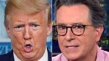 Stephen Colbert Trashes Trump With A Joke That's Pure Garbage