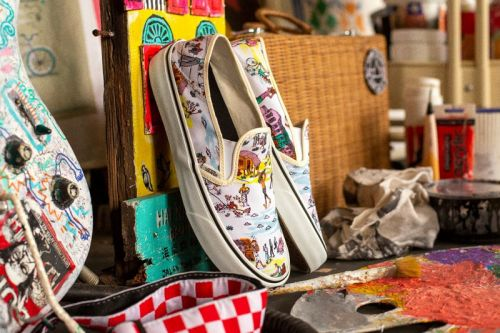 Kide Baharudin and Vans Deliver Vibrant Hand-Painted Collection