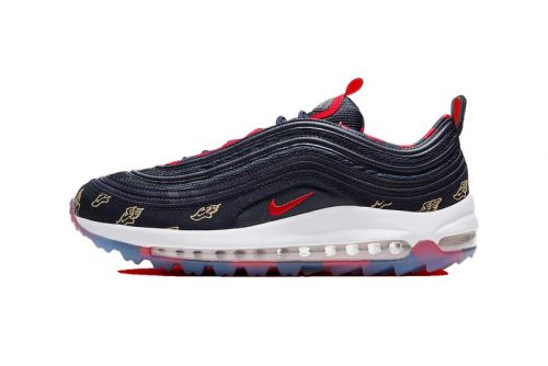 """Nike Unveils the Air Max 97 Golf """"Wing It"""" in Navy"""