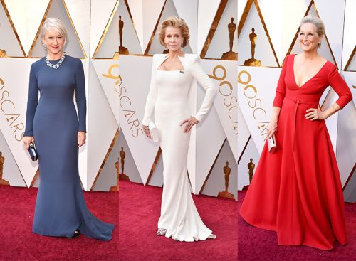 Older Actresses Schooled Everyone on How to *Own* the Oscars Red Carpet