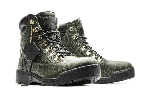 """Timberland Updates Its 6″ Field Boot With an Exotic """"Crocadylian"""" Makeover"""
