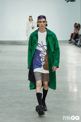 GQ and New Generation Designer Brand 8ON8 show at London Fashion Week Men's
