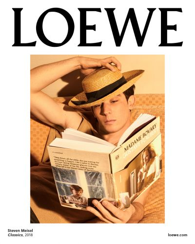 A First Look At Loewe's Steven Meisel-Shot Winter 2018 Men's Campaign