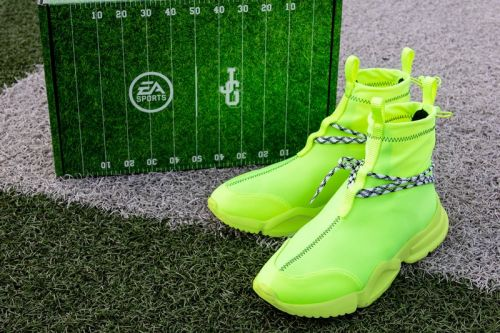 John Geiger Teams with EA Sports and 'Madden NFL 21' For Special Electric Green 002