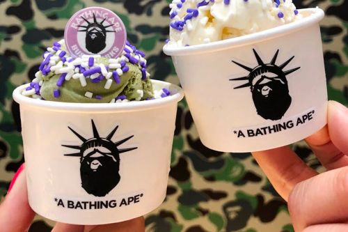 BAPE NY Is Serving up Ice Cream With a Special Spoon