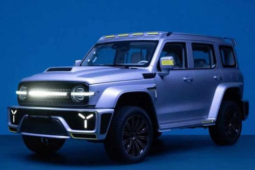 WEY's Cybertank 300 Is a Mishmash of All Your Favorite SUVs
