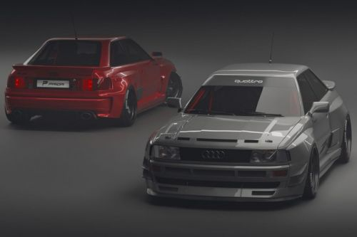 Prior Design's Widebody Audi Coupé B3 Is Nostalgic for '80s Group B Rallying