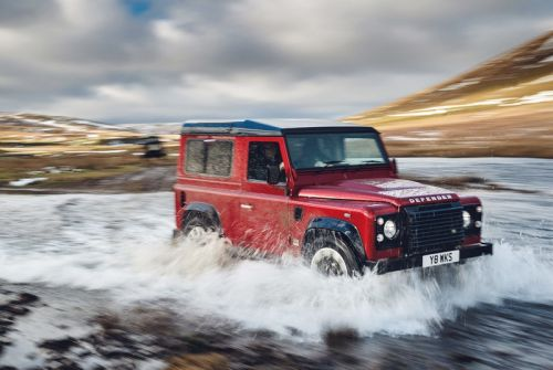 Land Rover Launches a 70th Anniversary V8-Powered Defender