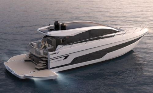 Fairline Reveals 'First Beach-Club Yacht' with Targa 58 GTB