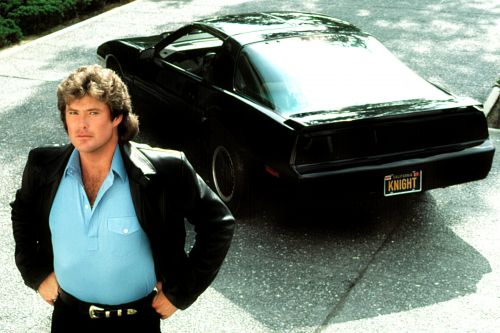 David Hasselhoff is auctioning off his 'Knight Rider' car