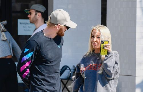 Tana Mongeau Meets Up With Ex Jake Paul's Brother Logan in L.A. Following Break