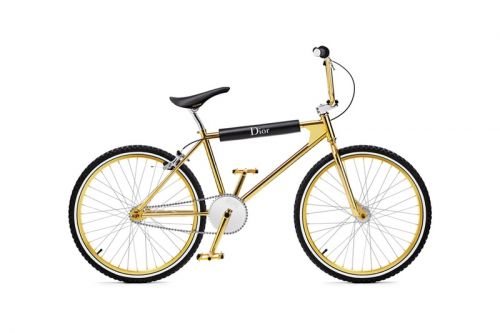 Dior & Bogarde Rejoin for Limited Gold BMX Bike