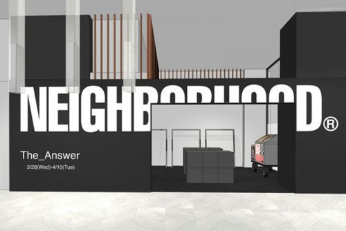 NEIGHBORHOOD Set to Open The Answer Pop-Up Shop at Isetan Shinjuku