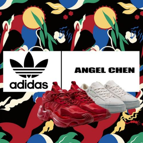 Adidas Originals Teams Up with Angel Chen